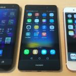 iPhone・ZenFone 2 Laser・P8liteで言語を変更する方法