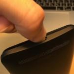 Zenfone 2 Laserの裏蓋カバーを壊さずに取り外すためのちょっとしたコツ