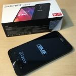 ZenFone 2 Laserのサイズ・表面の質感・スクリーン・デザインについてレビューする