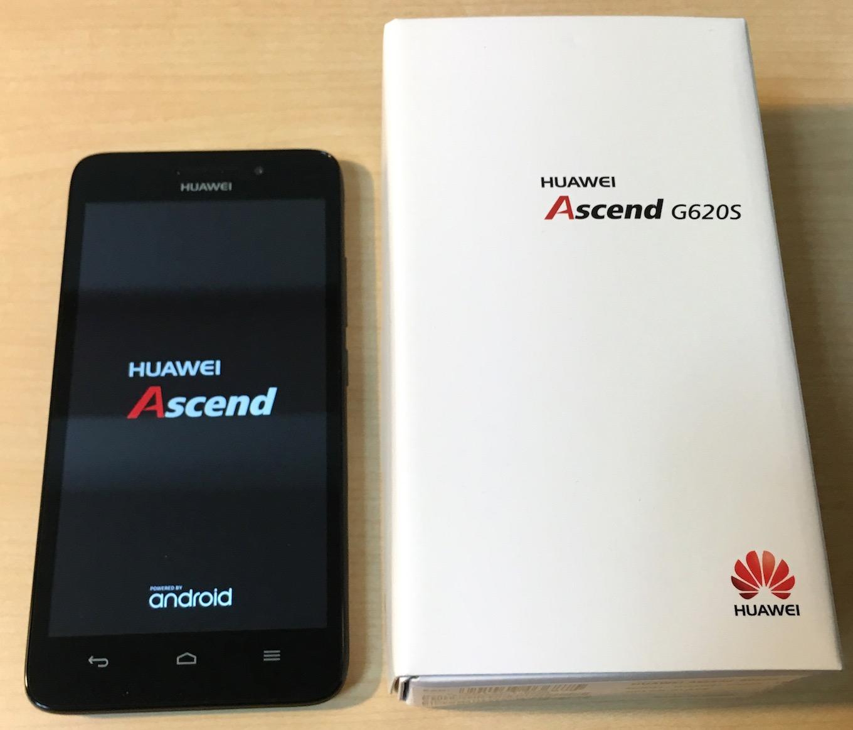 HuaweiのAscend G620S の外観デザイン・操作性をレビューする