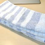 今治タオルのフェイスタオルを使ってみた!