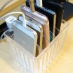 100円ショップのケースを活用してスマートフォン立てを作ってみた!