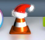 今年も、動画再生アプリ「VLC」のアイコンがクリスマス仕様に変更される