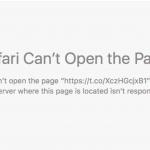 SafariでTwitterの短縮URLが開けないという不具合がOS X10.11.4 ベータ3版で修正