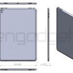 3月の発表イベントで登場すると噂のiPad Air 3の図面画像が流出!