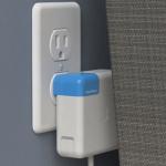 """Macの電源アダプタを壁沿いに設置できる変換器 """"blockhead"""" が便利そう!"""