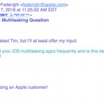 Apple副社長、アプリを強制終了してもバッテリーの節約にはならないと断言