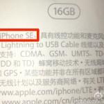 iPhoneSEのパッケージ画像が流出!ストレージ・Apple Pay対応などの情報が一致