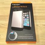 【SE/5s/5用】SpigenのiPhoneケース「スリム・アーマー【衝撃吸収パターン加工】」をレビューする