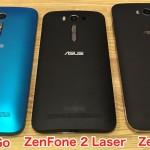 実際、どの端末がいい?ZenFone Go / 2 Laser / Maxを徹底比較!