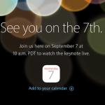 【決定】Appleのスペシャルイベントが9月7日に開催!iPhone7/iOS10などが発表か