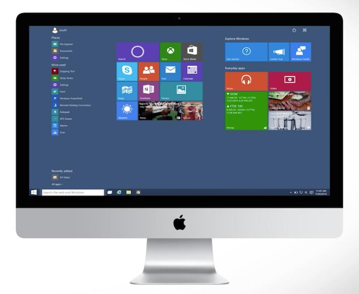 仮想化ソフト Parallels Desktop for Macを使ってMacbook上でWIndows10を使う方法