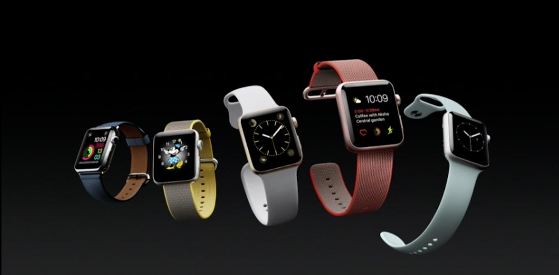 Apple Watch Series 2発表!防水性能が向上、GPS搭載、2倍明るくなり屋外でもより使いやすく