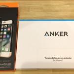 Ankerの液晶保護フィルムとSpigenのiPhone7用スタイル・アーマーをレビューするよ!