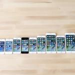 歴代iPhoneの性能を比較する動画が公開!写真写りがより明るく鮮やかに