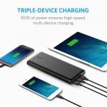 Anker、iPhone7を10回以上充電できるモバイルバッテリーを発売!3台同時充電/デュアル充電にも対応