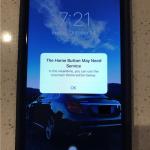 iPhone7、ホームボタンが壊れた時は画面上にホームボタンが出現することが判明