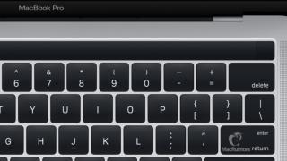 新型MacBook Proの公式とされる画像が公開!OLEDタッチバー・Touch IDの搭載はほぼ確実