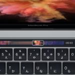 Apple純正アプリ利用時のTouch Barのスクリーンショットが公開される!
